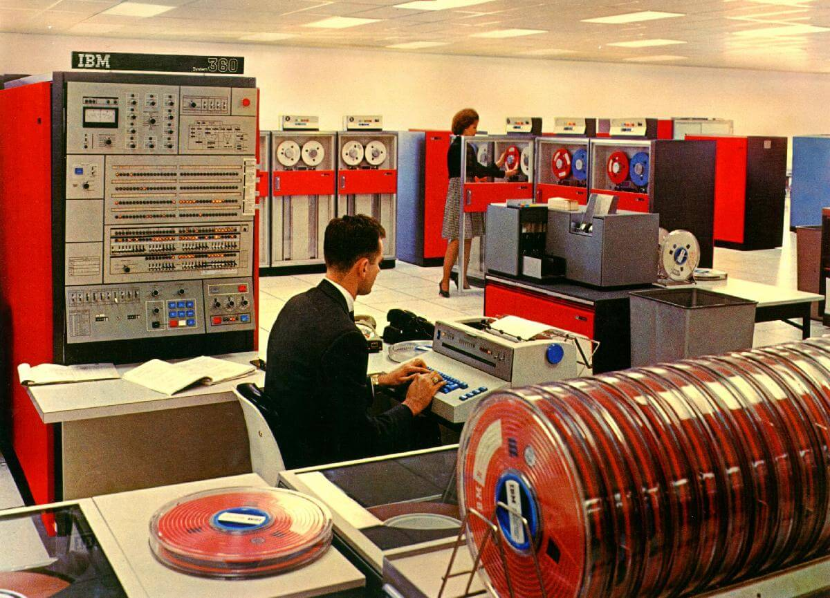 IBM S/360, le premier mainframe… fête ses 50 ans!