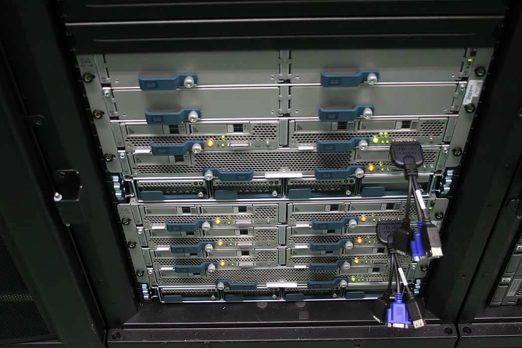 Cisco devant HP sur le marché des blades en Amérique du nord!