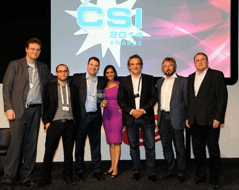 BCE: «Meilleure solution de gestion et d'automatisation du workflow» aux CSI Awards 2014
