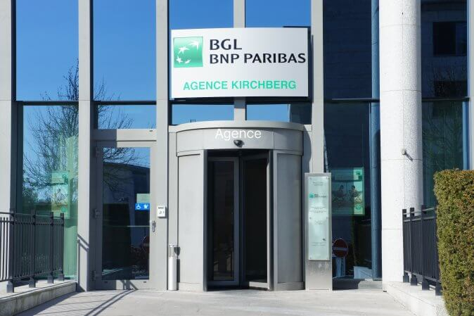 Signature sur tablette,  sésame de BGL BNP Paribas