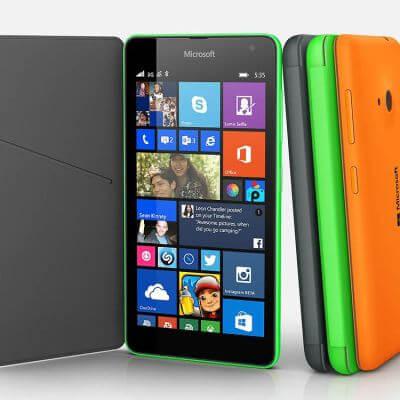 Lumia 535, «full Microsoft»
