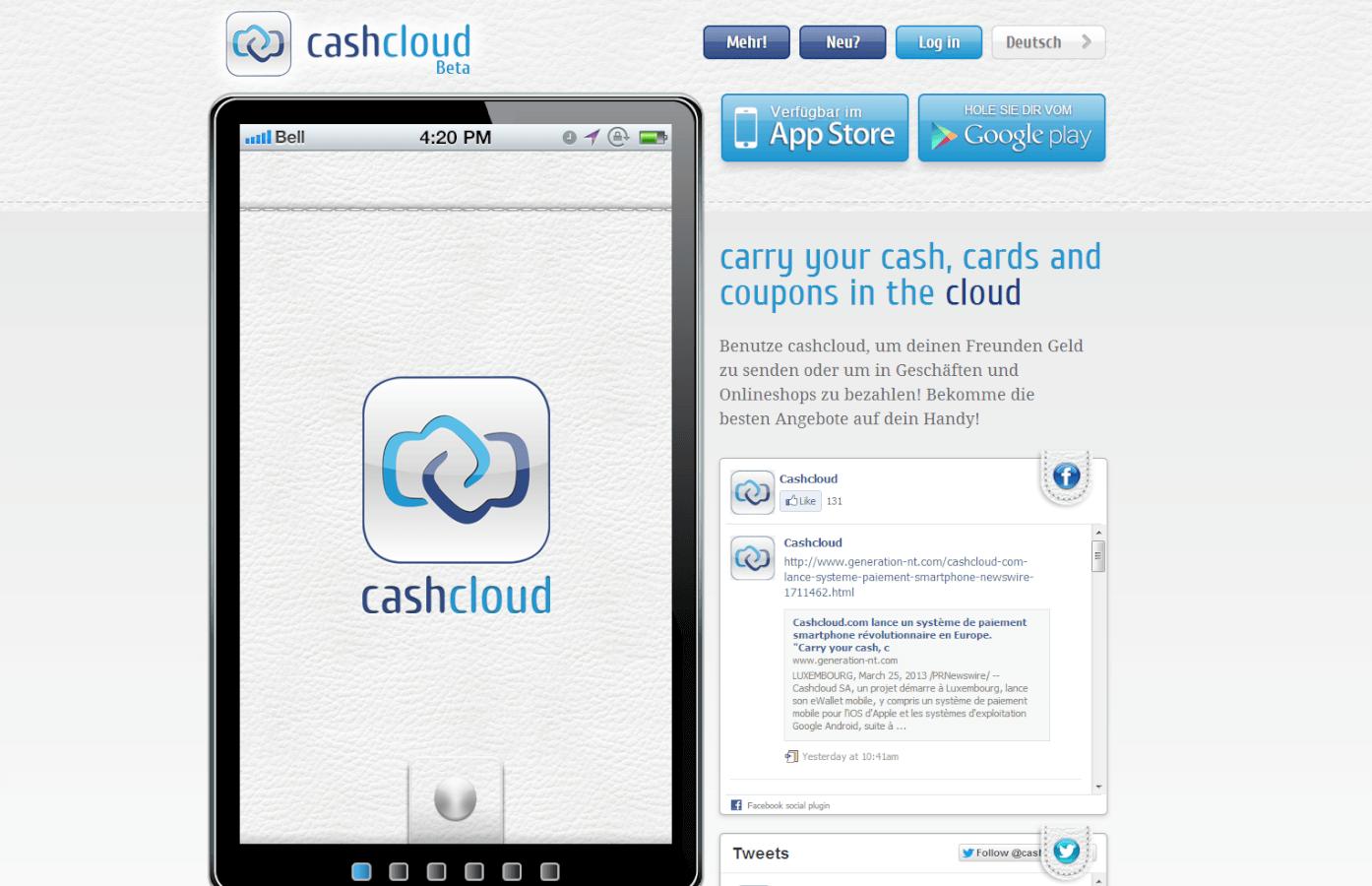 cashcloud, Banking IT Innovation Award 2014 !