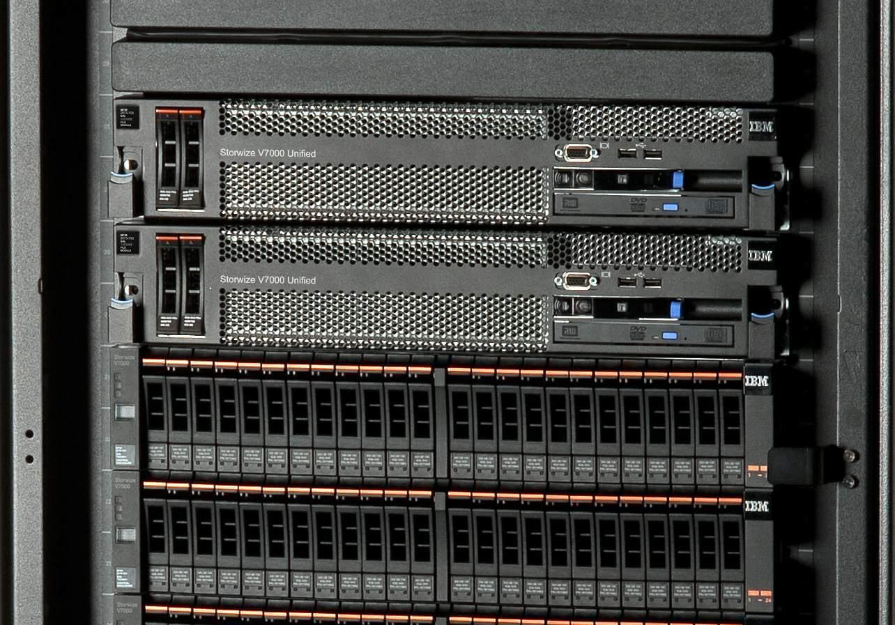 VersaStack combine les serveurs UCS avec le stockage Storwize