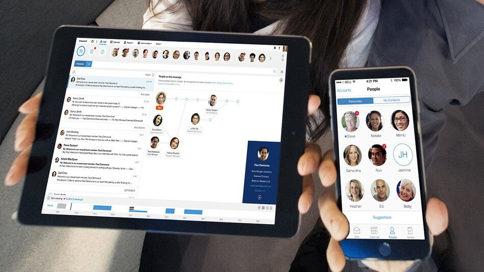 IBM Verse, une expérience de collaboration sur base de profils