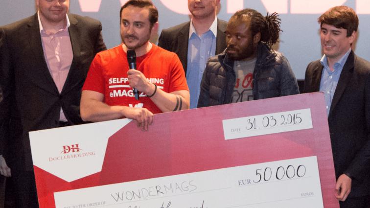 Wondermags, vainqueur du «Pitch your Start-up» de Docler