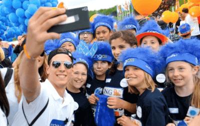 L'ING Night Marathon Luxembourg avec la 4G+ de Tango