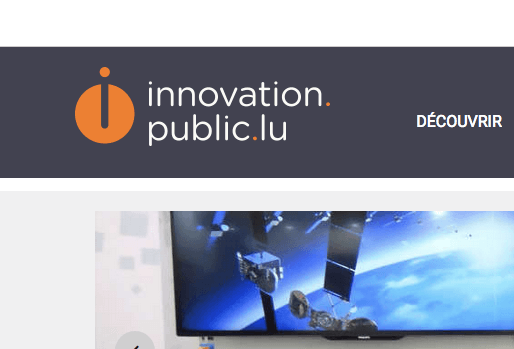 www.innovation.public.lu accessible en responsive design