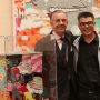 Beau succès pour la première édition de Art-in-the-office. Le conteneur peint par SUMO adjugé à Bob Kneip, amateur d'art éclairé