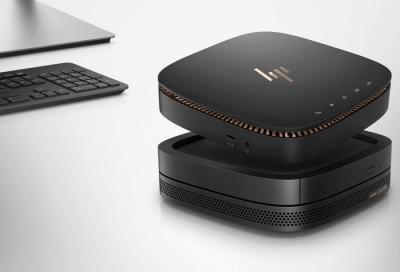 Avec l'Elite Slice, HP réinvente le concept de PC de bureau
