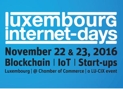 Luxembourg Internet Days 2016 : c'est bientôt !