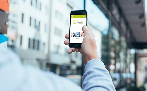 La nouvelle app Editus.lu, encore plus proche de l'utilisateur