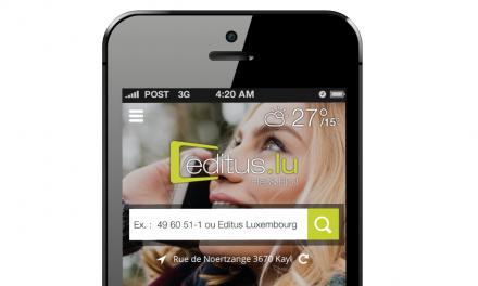 Editus.lu repose sur un développement cross-platform