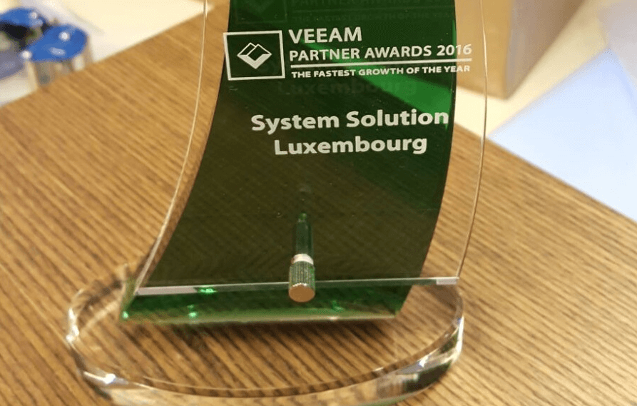 System Solutions s'illustre aux Veeam ProPartner Awards 2016