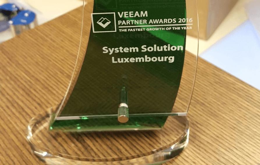 System Solutions s'illustre aux Veeam ProPartner Awards 2016