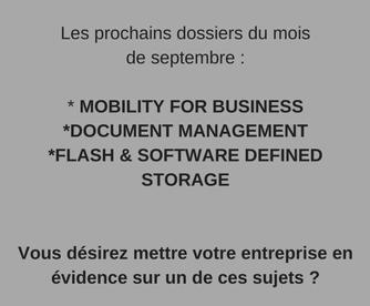 dossier web soluxions magazine