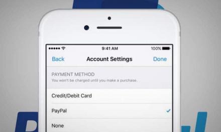 Payer avec PayPal sur les services d'Apple. Possible !