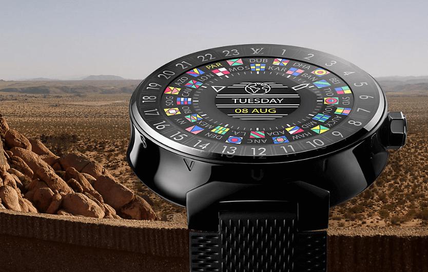 Tambour Horizon, première smartswatch signée Louis Vuitton