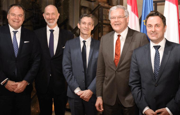 Transformation digitale du Luxembourg... Rencontre au sommet entre Xavier Bettel et Stefaan De Clerck, Chairman of the Board of Directors de Proximus.