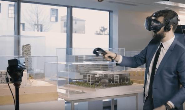 Projet d'holoportation sur base des technologies Mimesys et HTC Vive. BNP Paribas Real Estate révolutionne le parcours client dans le secteur de l'immobilier.