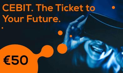 Venez et vivez LE 'NEW CEBIT' ! Visitez CEBIT city du 11 au 15 juin 2018 et découvrez comment innover votre business avec de nouvelles solutions numériques !