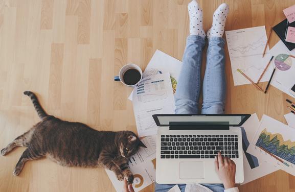 La productivité est plus élevée… à la maison ! Qu'attendez-vous ?