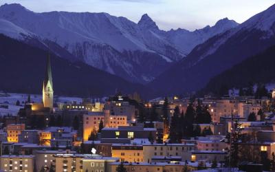 A Davos, on planchera sur les cyber-attaques