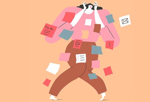 L'hyperconnexion menace. Plus les managers communiquent virtuellement, plus ils disent avoir souvent des tensions avec leurs collègues