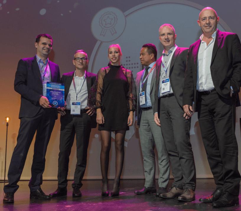Plus de 60 CIO membres du jury ont désigné EBRC pour les performances exceptionnelles de son TrustedCloudEurope au cours des ICT Awards 2019