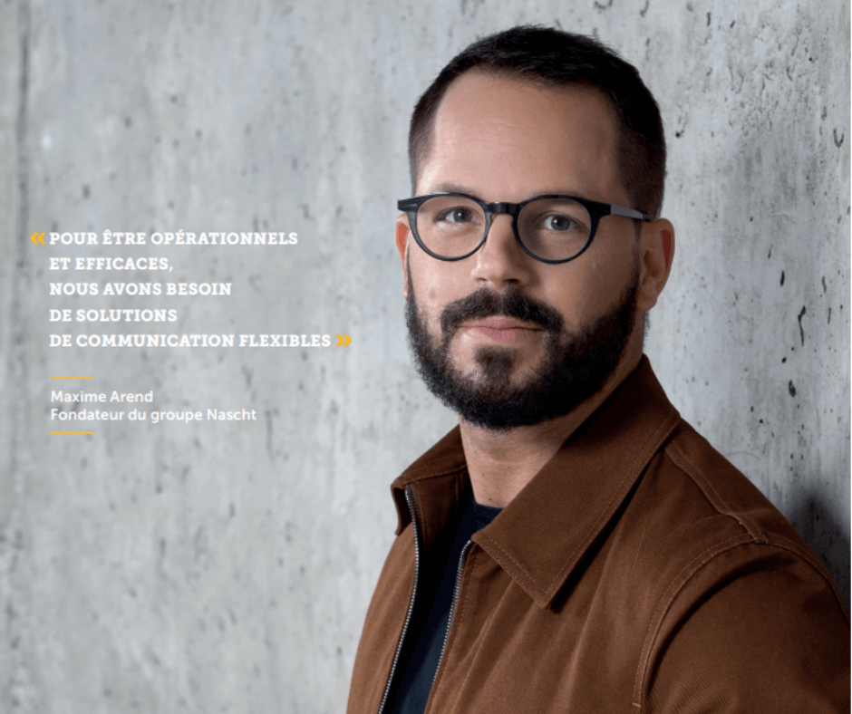 Pour relier son personnel sur ses différents sites, Maxime Arend, le fondateur de Nascht, a opté pour la solution ConnectedOffice de POST
