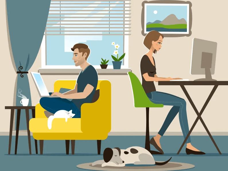 Le passage au travail à distance à l'échelle de l'entreprise a rendu le réseau de collaboration plus cloisonné, les travailleurs étant moins susceptibles de communiquer avec ceux d'autres départements