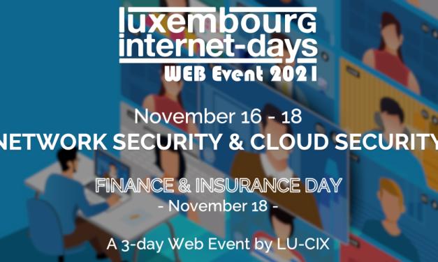 Luxembourg Internet Days 2021, focus sécurité
